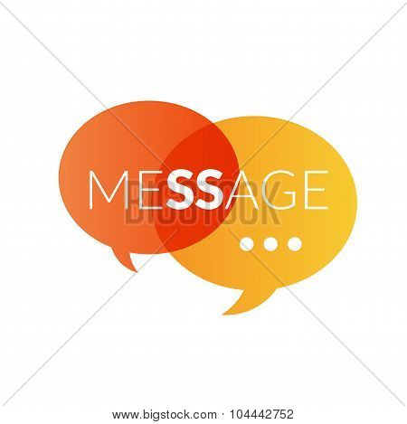 Text message logo