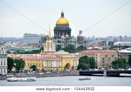 Panorama Of Saint Petersburg - Bird's-eye View