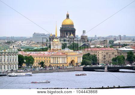 Panorama Of St. Petersburg - Bird's-eye View