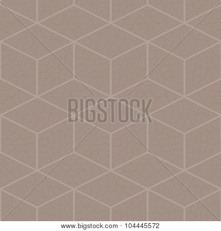 Seamless abstract pattern of diamonds