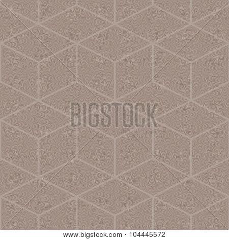 Seamless abstract pattern of diamonds