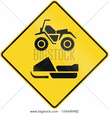 Snowmobile And Atv Warning In Canada