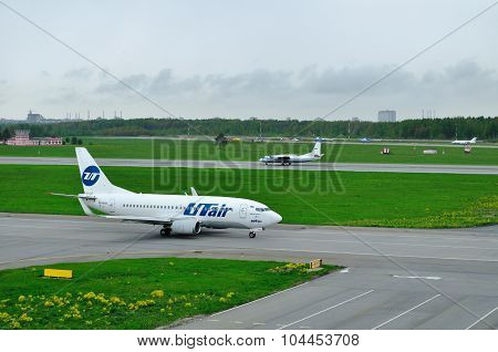 Utair Airline Boeing 737-500 And Flight Tests And Systems Airlines Antonov An-26 Kpa Airplanes  In P