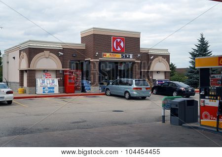 Circle K Gasoline Station