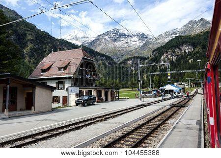 In Swiss Alpes