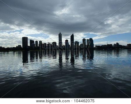 Perth Skyline of Western Australia