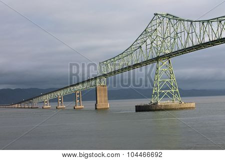 Astoria-Megler Bridge at Sunrise