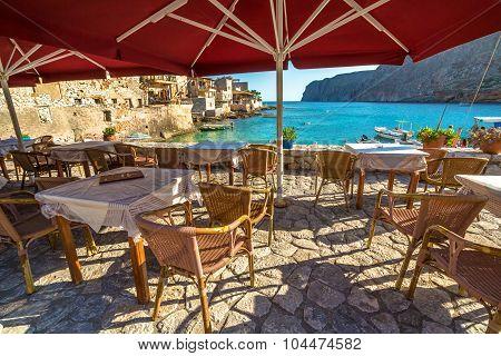 Tavern greek Gerolimenas
