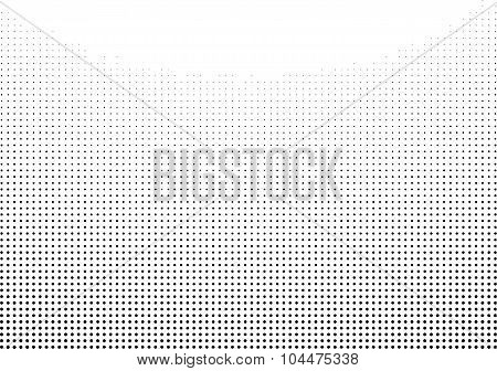 Graphical Black And White Gradient In Halftone Style