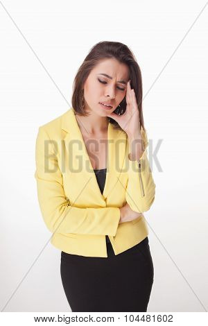 picture of a beautiful business woman