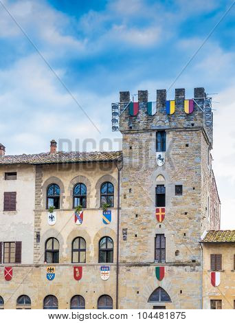 Large Square In Arezzo