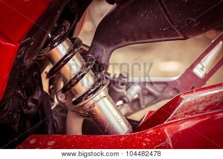 Shock Absorber Of Motorcycle