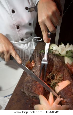 Cutting The Steak
