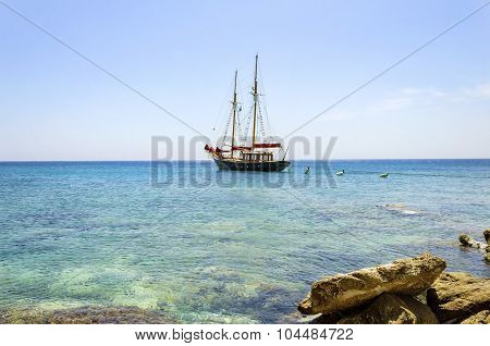Greek Sailboat