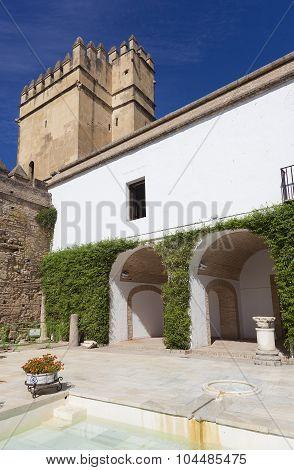 Gardens And Fountains Of The Alcazar De Los Reyes Católicos, Cordoba, Andalusia, Spain