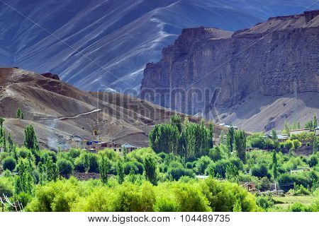 Aerial View Of Leh Ladakh Landscape, Jammu And Kashmir, India