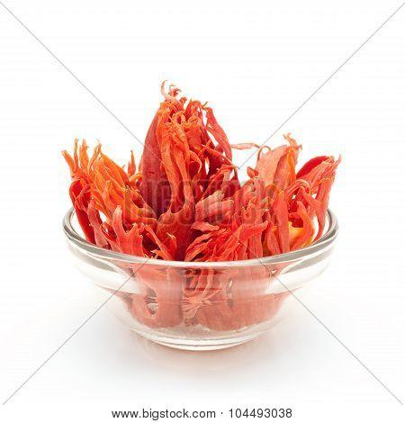 Bowl of Organic Mace.