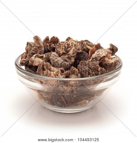 Bowl of Organic Dried gooseberry.