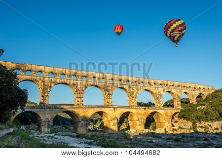View Of Pont Du Gard