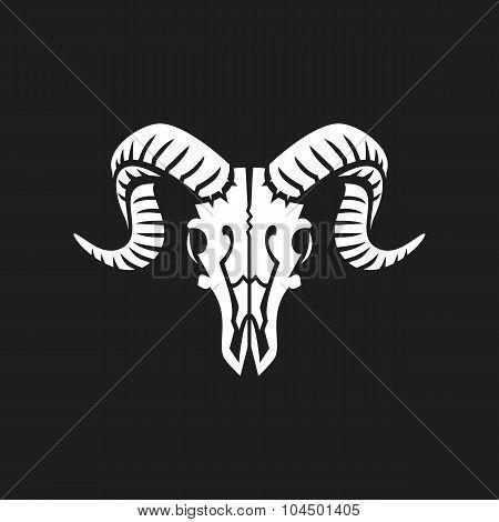 Ram skull sign