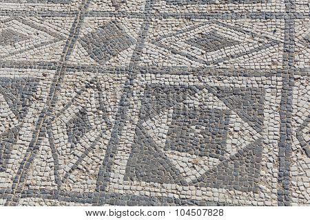 Mosaic Of Clunia, Peñalba De Castro, Burgos, Castilla Y Leon, Spain