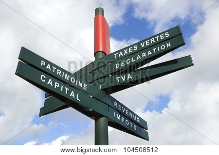 Tax Shift Signpost