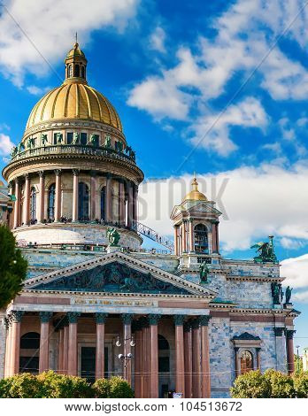 St. Isaacs Cathedral In Saint-petersburg
