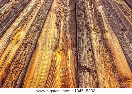 Natural Background Texture Image Of Old Pine Boards