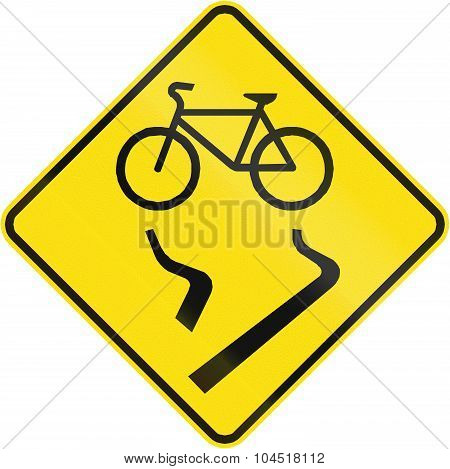 Slip Danger For Cyclists In Canada