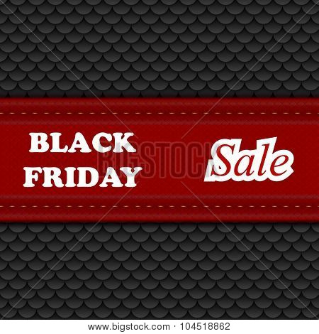 Black Friday sale abstract background. Vector design