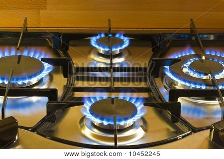 Cooking By Gas Light