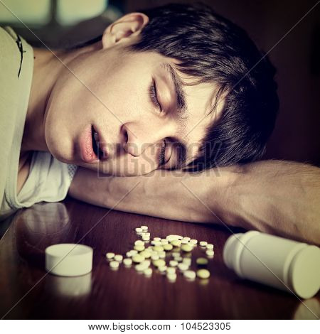 Man Sleep With The Pills
