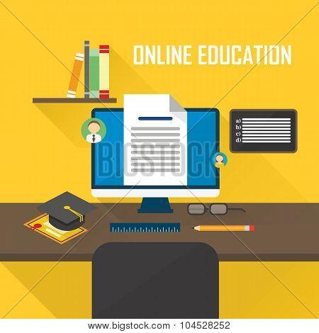 E-learning computer