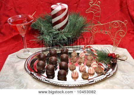 Christmas Candy Platter