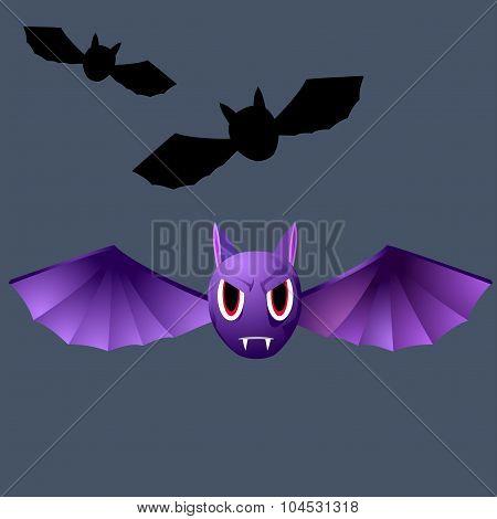 Terrible Purple Vampire Bat
