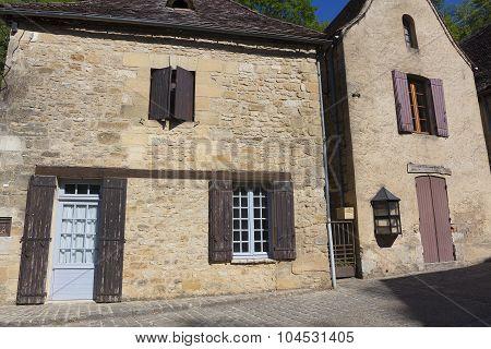 Architecture Of Beynac-et-cazenac, Dordogne, Aquitaine, France