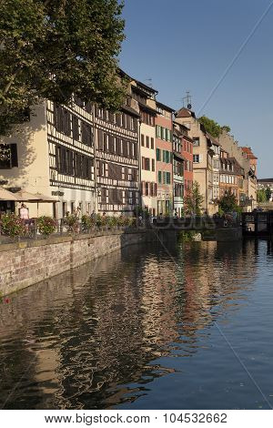 Architecture Of The Petite France, Strasbourg, Bas-rhin, Alsace, France