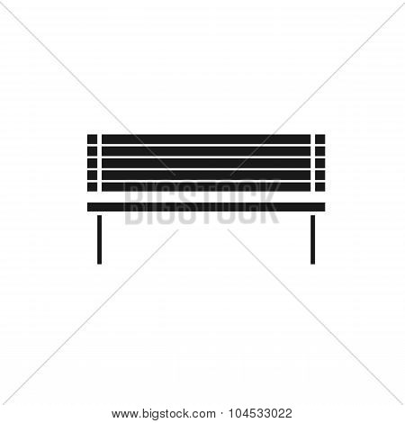 Vector icon bench