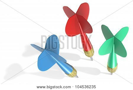 Three Dart Arrows.