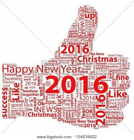 Thumb Up Symbol 2016