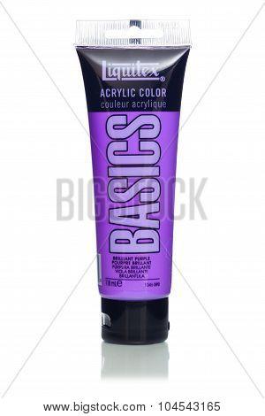 MIAMI, USA - JAN 26, 2015: Liquitex Artist Acrylic paints were created in 1955.