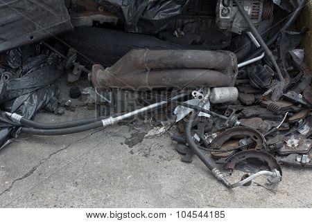 Auto Garage Junk