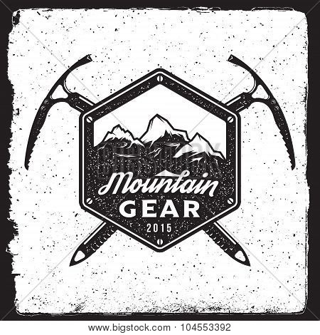 Mountain Gear Vintage Emblem