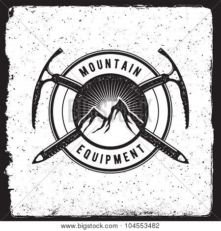 Mountain Equipment Vintage Emblem