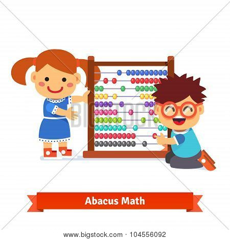 Kids are learning math