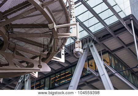 LONDON, UK - APRIL 22, 2015: Lloyds of London building against of sky. Business background