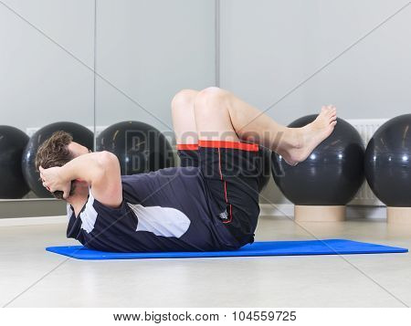 Male in Gym