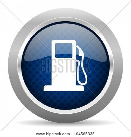 petrol blue circle glossy web icon on white background, round button for internet and mobile app