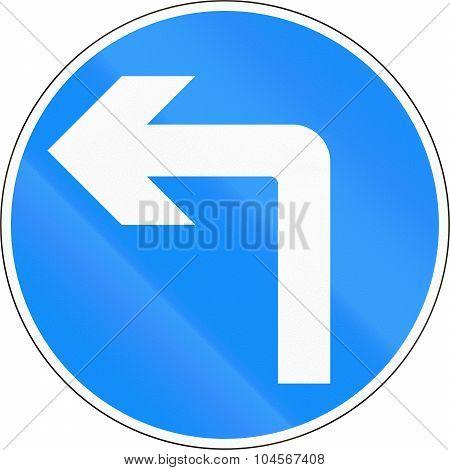 Turn Left Ahead In Bangladesh