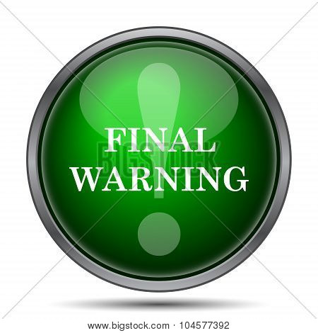 Final Warning Icon